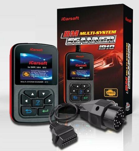 iCarsoft i910 + OBD-1 Adapter Diagnose für BMW Mini E36 E39 E46 E60 E63