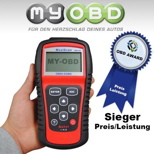 OBD-509 Diagnosegerät ink OBD-I Adapterset neuste Version komplett in Deutsch ..